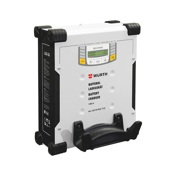 Caricabatterie auto POWER-SUPPLY, 12 V, 100 A, per caricare batterie con capacità 20-1200 Ah 0510955710