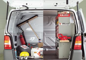 ORSYmobil: la soluzione di Würth di Officina Mobile per l'allestimento di veicoli commerciali e furgoni