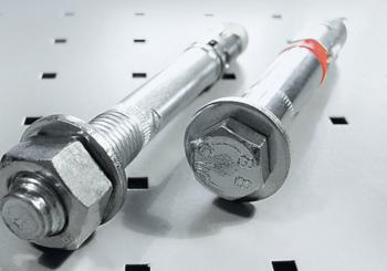 Tasselli meccanici in acciaio per carchi pesanti: scopri la gamma per il fissaggio estremo!