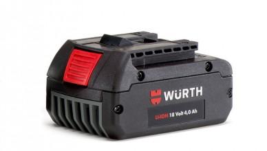 batteria 18 v wurth