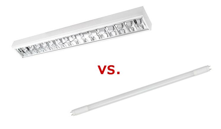 Plafoniera o tubo LED? Ecco un confronto!