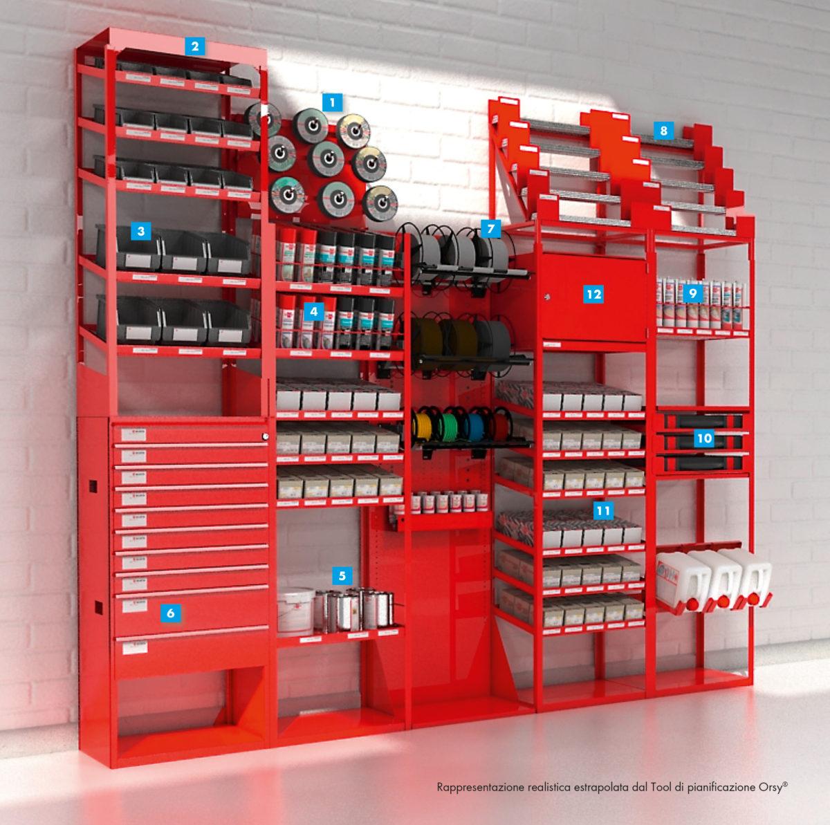 Scaffalature modulari professionali