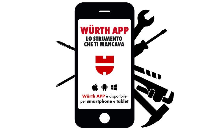 Scarica la nostra Würth App sul tuo telefono