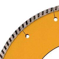 disco con corona scanalata-dettaglio