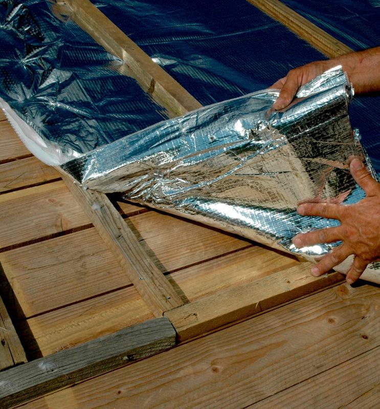 Isolante per tetto w top multitermico w rth lab for Progettista edile professionista