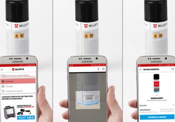 Con la WÜRTH APP puoi ordinare direttamente dal cellulare!