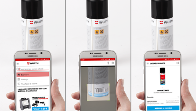würth app scansione