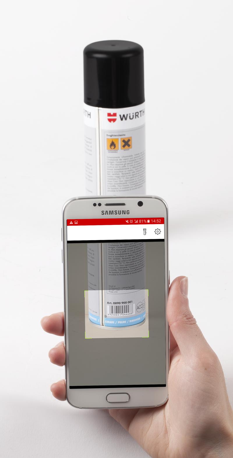 scansione wurth app