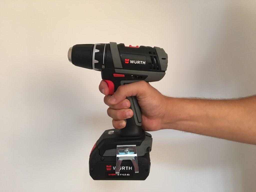 Scopri il nuovo trapano avvitatore a batteria BS18 Ah – light