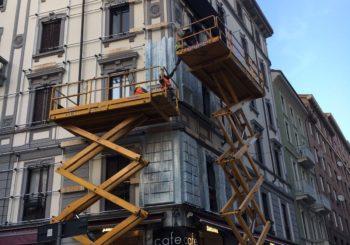 Palazzo ghiacciato a Milano Moscova: ecco che cosa è accaduto