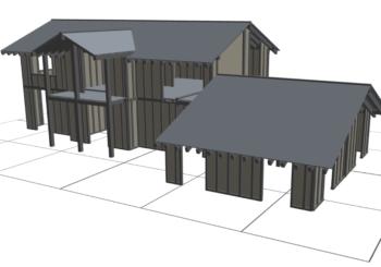 Progettare case in legno: ora basta solo un software