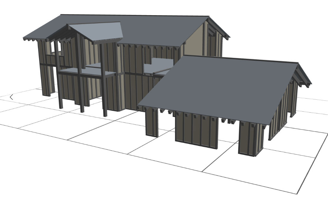 il software di progettazione di case in legno timbertech e