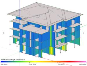 Il software di progettazione di case in legno timbertech e for Software di progettazione di edifici domestici