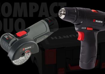 Kit avvitatore e mini smerigliatrice: un comodo kit per portare i tuoi utensili a batteria sempre con te!