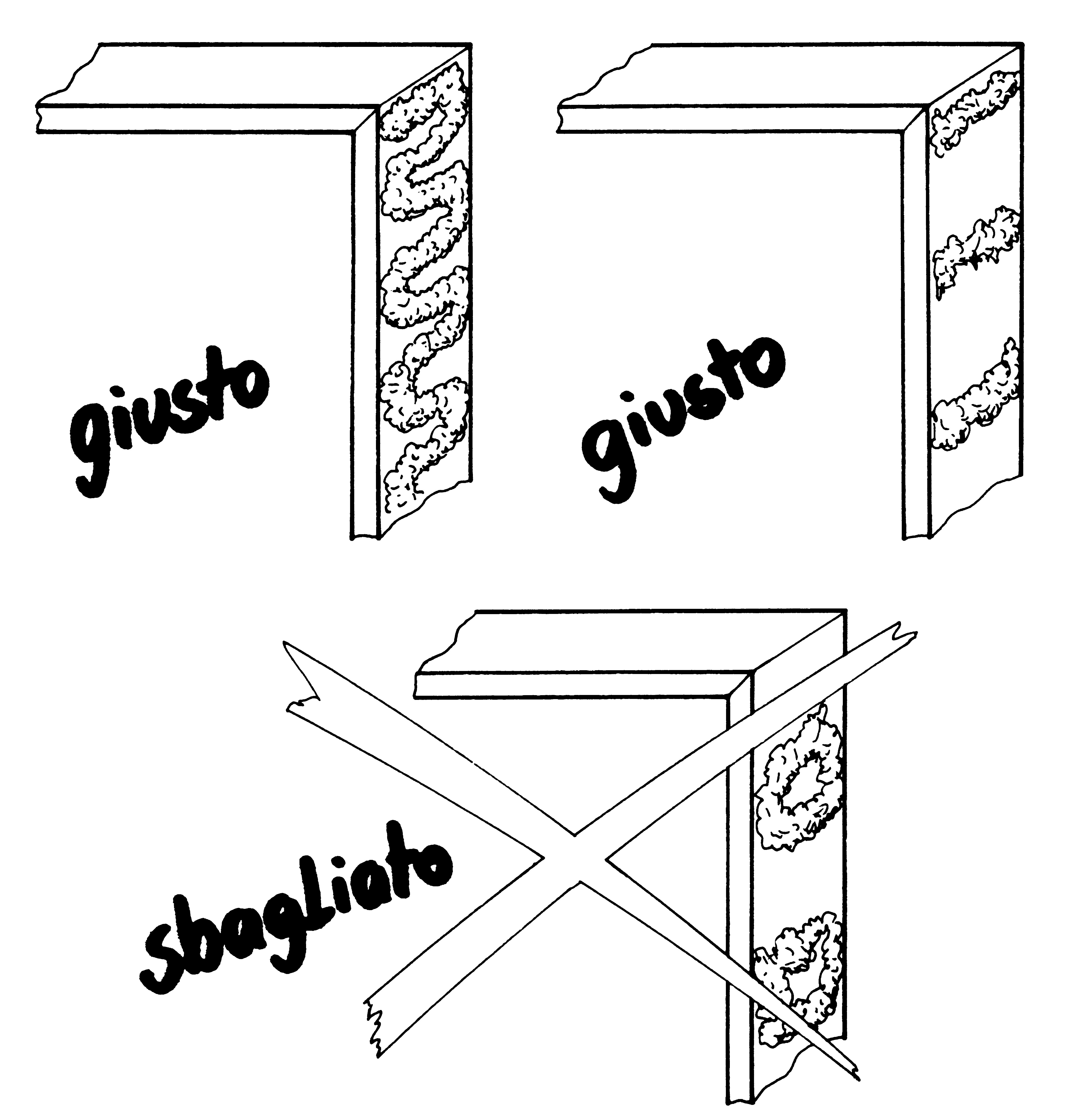 Come utilizzare la schiuma poliuretanica per il montaggio - Montaggio porta a libro effebiquattro ...
