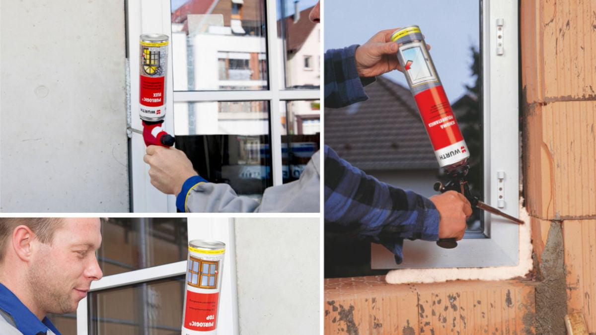 Come Montare Un Controtelaio schiuma poliuretanica isolante: corretto utilizzo - würth news