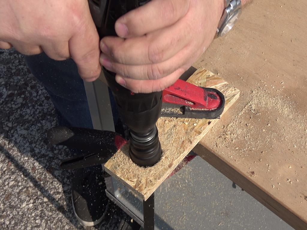 allargare foro nel legno