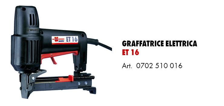 graffatrice elettrica