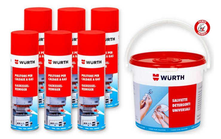 Pulizia e manutenzione della caldaia: tutti i prodotti che ti servono in un kit