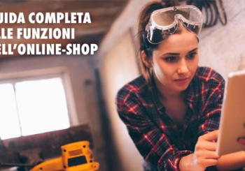 Guida completa alle funzioni dell'Online-Shop Würth