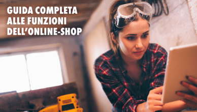 Online-Shop Würth - Guida
