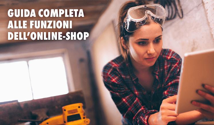 Online-Shop Würth - Guida