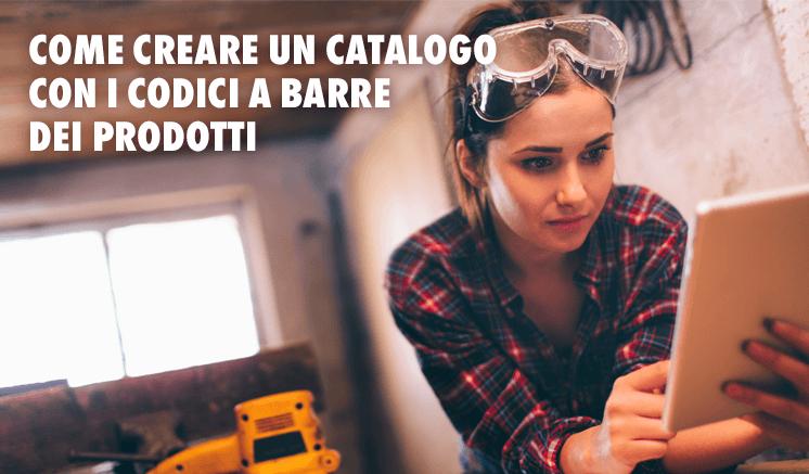 Come creare un catalogo con i codici a barre dei prodotti