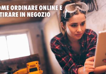 Come ordinare online e ritirare in negozio