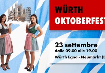 Würth Oktoberfest: una giornata speciale dedicata a tutti i professionisti e ai clienti Würth!