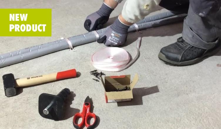 Fixa - Kit: tutto ciò che ti serve per il fissaggio dei tubi in una pratica soluzione