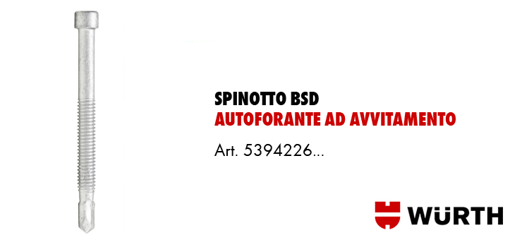 Spinotto Autoforante