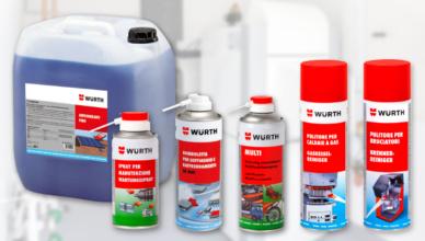 Prodotti per manutenzione e pulizia della caldaia