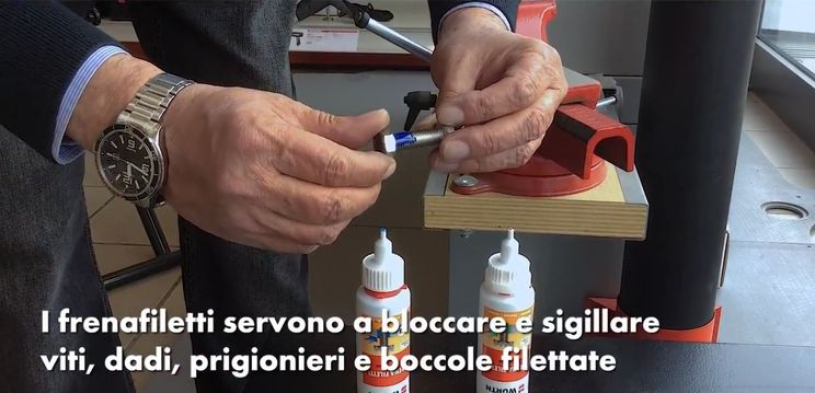 blocca filetti