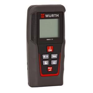 Misuratore laser w rth precisione e resistenza assicurate for Allestimento furgoni wurth