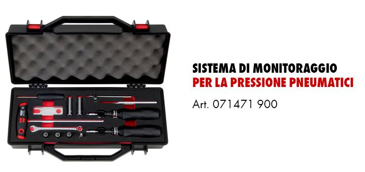 Strumenti Monitoraggio pressione pneumatici