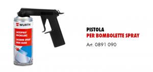 Pistola per bombolette Spray