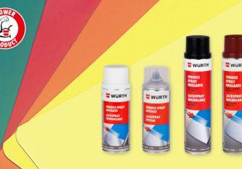 Vernici Spray di protezione e per ritocchi: essiccazione veloce e alto potere coprente
