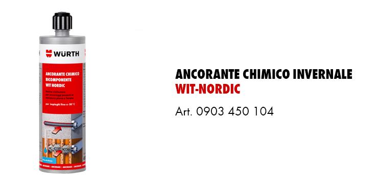 Ancorante Chimico invernale Wit Nordic