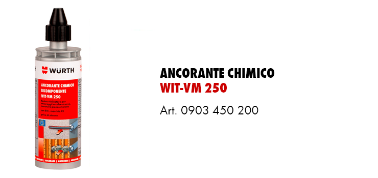 Ancorante Chimico WIT-VM 250