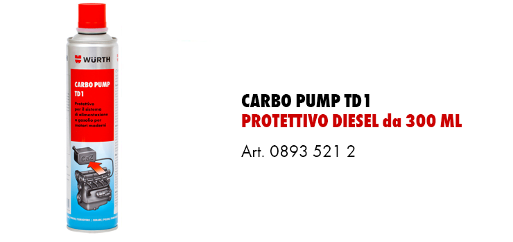 Carbo Pump TD1 protettivo diesel
