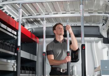 Allestimento furgoni ORSYmobil: pratico, sicuro e completamente personalizzabile