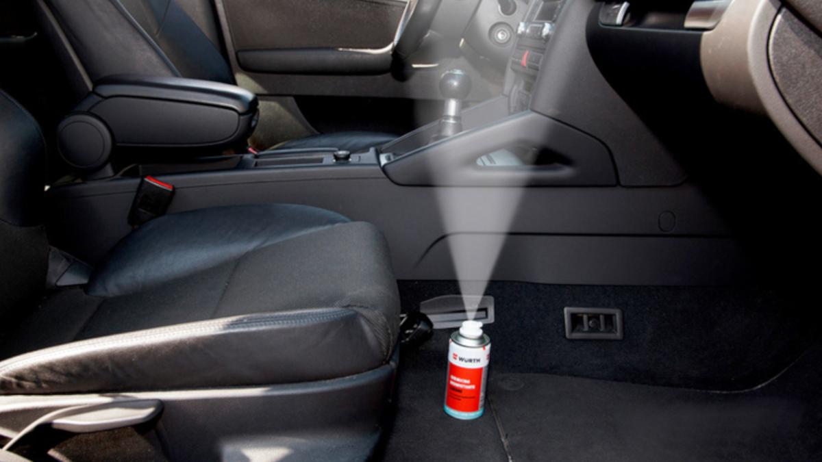 Igienizzazione auto: disinfetta l'auto da germi e batteri! - Würth