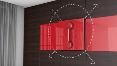 Mini FitLock per fissare rivestimenti per pareti