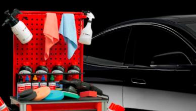Prodotti professionali per lavaggio auto