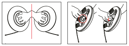 sonda passacavi su avvolgitore