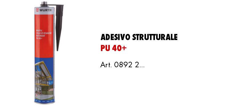 adesivo strutturale PU 40