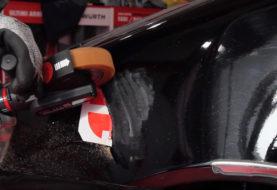 Smerigliatrice pneumatica DBS 3500: imbattibile su lamiere e carrozzerie
