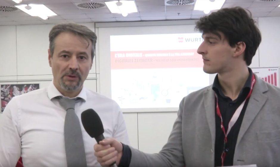 Quanto è digitale Würth Italia? La video-intervista all'amministratore delegato Nicola Piazza
