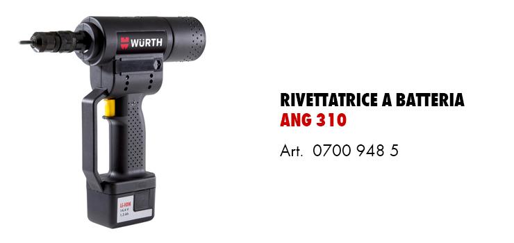 rivettatrice batteria ANG310