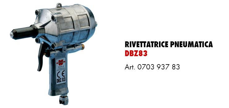 rivettatrice DBZ83
